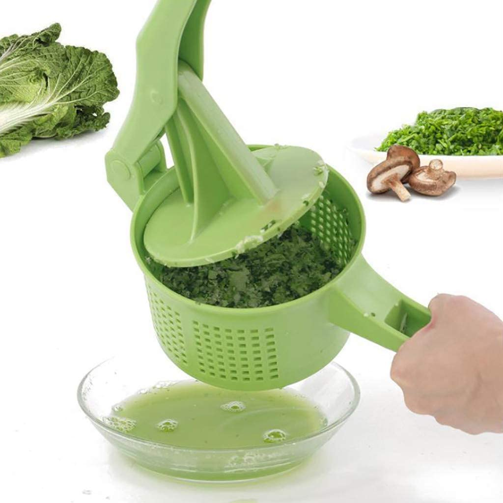 Tuscom Fruit Vegetable Squeezer, Manual Fruit Juicer, Home Creative Pressing Vegetable Stuffing Squeezer Fruit Squeezing Tool for Oranges, Lemons, Limes, Grapefruits and More