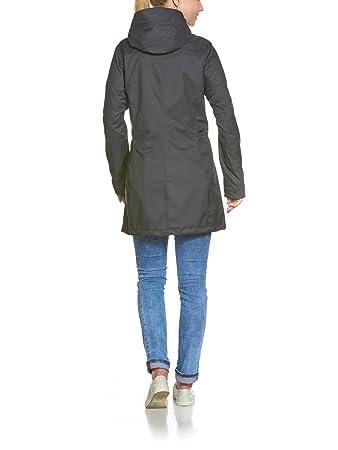 Tatonka Mujer guada W S Coat Abrigos, Primavera/Verano, Mujer, Color Negro, tamaño 36: Amazon.es: Deportes y aire libre