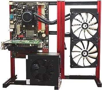 ITX MATX ATX PC Test Bench Expansion Foldable PIO Frame Aluminum HTPC