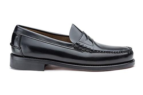 Negro Mocasín Castellano® Hombre Complementos Para Color Zapatos Piel es Y Madrid 1920 Amazon w1xaaHpXqn