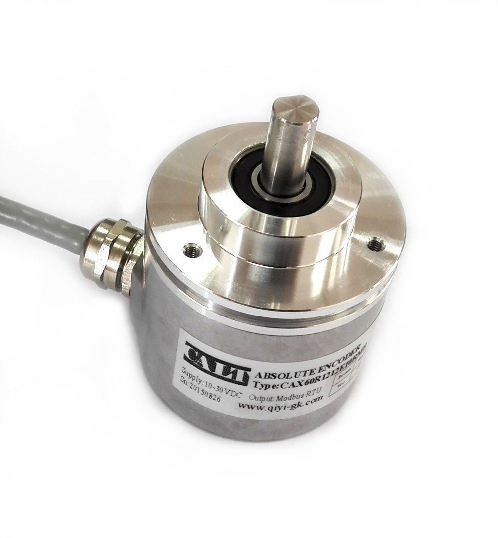 Professional Multi Turn Absolute Rotary Encoder 360 Resolution 12 Bit 4096 SSI Gray Code Output