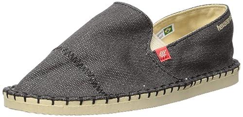 Havaianas Alpargatas para Niños Origine Yacht Cal, Negro Niños, Unisex: Amazon.es: Zapatos y complementos