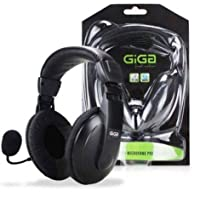 Headphone Headset Profissional c/Microfone Fast Action Giga
