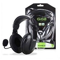 Headphone Headset Profissional c/Microfone Fast Action Giga