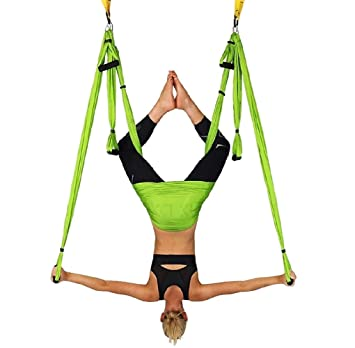 WKLCF Yoga Hamaca Aerial Anti Gravity bambolearse Colgante ...