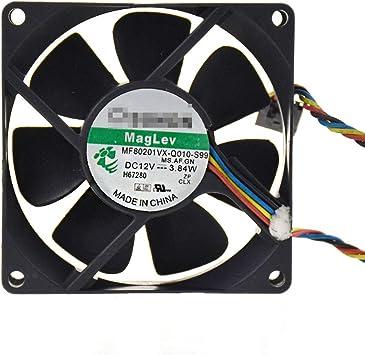 4wire 5pin MF80201VX-Q010-S99 Sunon Computer Cooling Case Fan 12V 3.84W