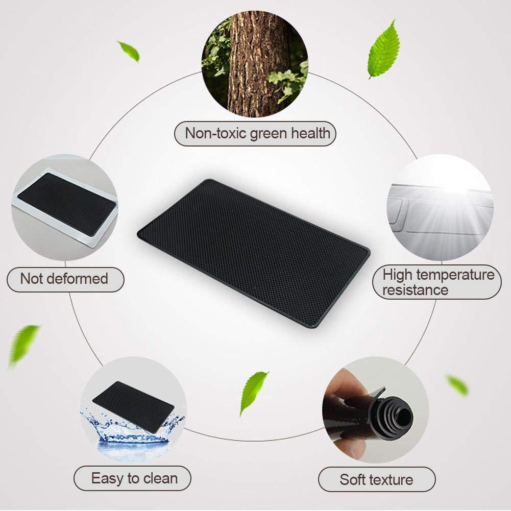 Bienenwabe//Mesh Auto-Telefon Anti-Rutsch-Pad Gro/ße Auto-Aufbewahrungsmatte Hochtemperatur-Instrumentenbrett kapokilly Auto Anti-Rutsch-Pad