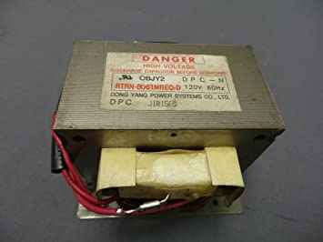 recertificación Sharp rtrn-b061mre0 microondas transformador ...