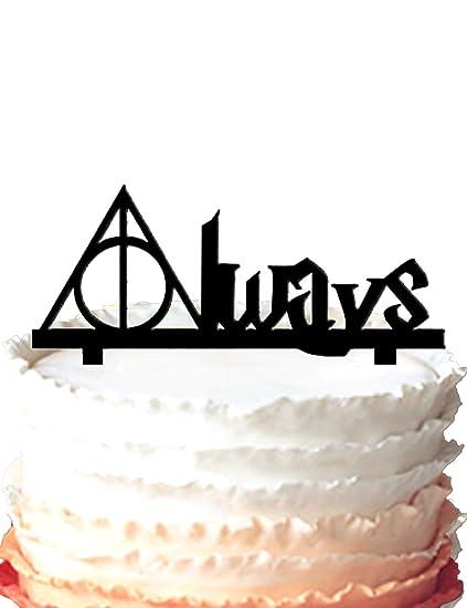 Kaishihui Always Wedding Cake Topper Harry Potter Amazon Co Uk