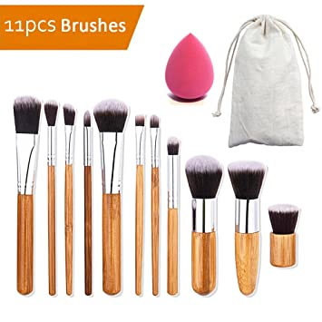 Make Up Pinsel Set Aidue 11 Pcs Professionelle Kosmetik Foundation