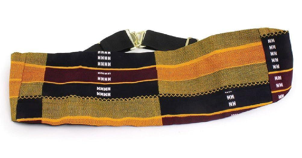 Kente Pattern Cummerbund Cumberbund African Inspired Fashions