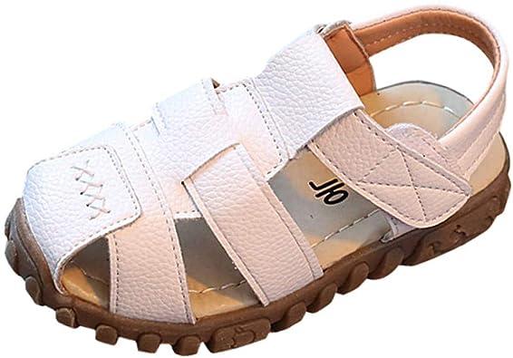 WINJIN Chaussures pour Enfants Mixte Sandales et Mules en