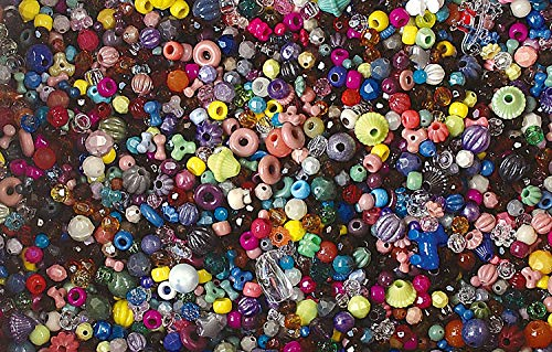 The Beadery Bonanza 5LB of Mixed Craft Beads, Sizes, Multicolor (Тhree Pаck) by The Beadery (Image #2)