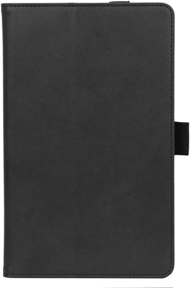 ISIN Premium PU Folio Protective Case Stand Cover General for 8.0-inch Lenovo Smart Tab M8 HD TB-8505 and M8 FHD TB-8705 (No for Lenovo Tab4 8 TB-8504, Tab4 8 Plus TB-8704) Android Tablet PC(Black)
