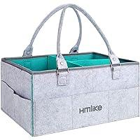 Hmlike Organizador de pañales, cesta de almacenamiento grande