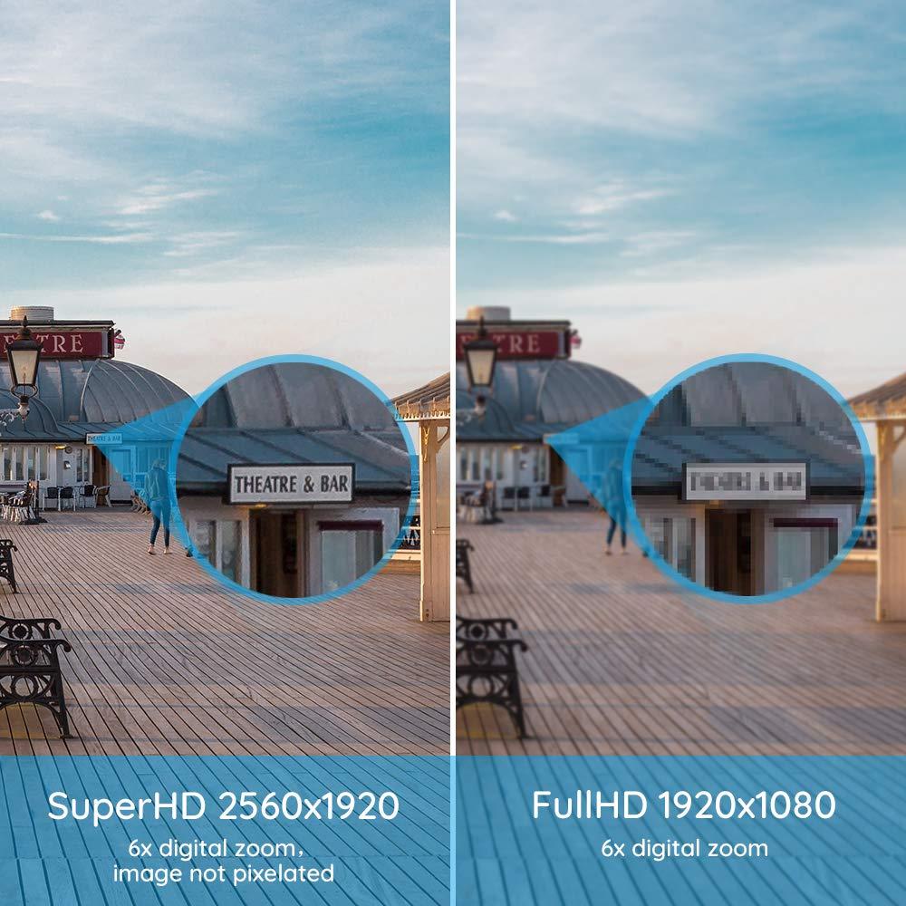 para Hogar Exterior RLK8-410B4 Reolink 8 Canales 5MP Kit de C/ámara de Vigilancia IR Visi/ón Nocturna con 4X 5MP PoE C/ámara IP Impermeable y 8CH 2TB HDD NVR Videovigilancia Sistema Interior