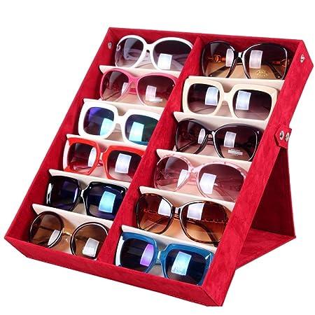 Liuxiaomiao - Caja de Almacenamiento para Gafas de Sol: Amazon.es ...