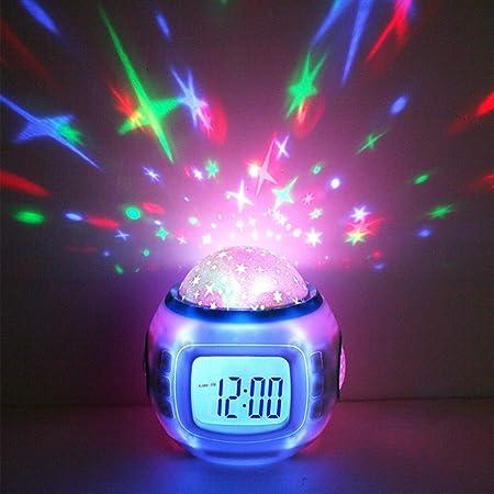 Luminoso Sueño Despertador Digital Música Cielo Estrellado ...