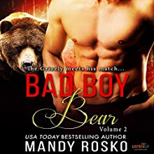 Bad Boy Bear: Volume 2 Audiobook by Mandy Rosko Narrated by Saiorse Wise