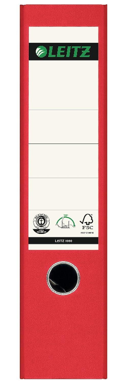 confezione da 3 pezzi Raccoglitore formato A4 con fessure per anelli colore: giallo Leitz 310305015 180A