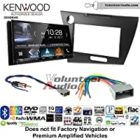 Volunteer Audio Kenwood DDX9904S Double Din Radio Install Kit with Apple CarPlay Android Auto Bluetooth Fits 2012 Honda Civic (Dark Grey Satin)