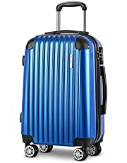 Wanderlite Luggage Suitcase Trolley Travel Carry On Bag Lightweight Hard Case