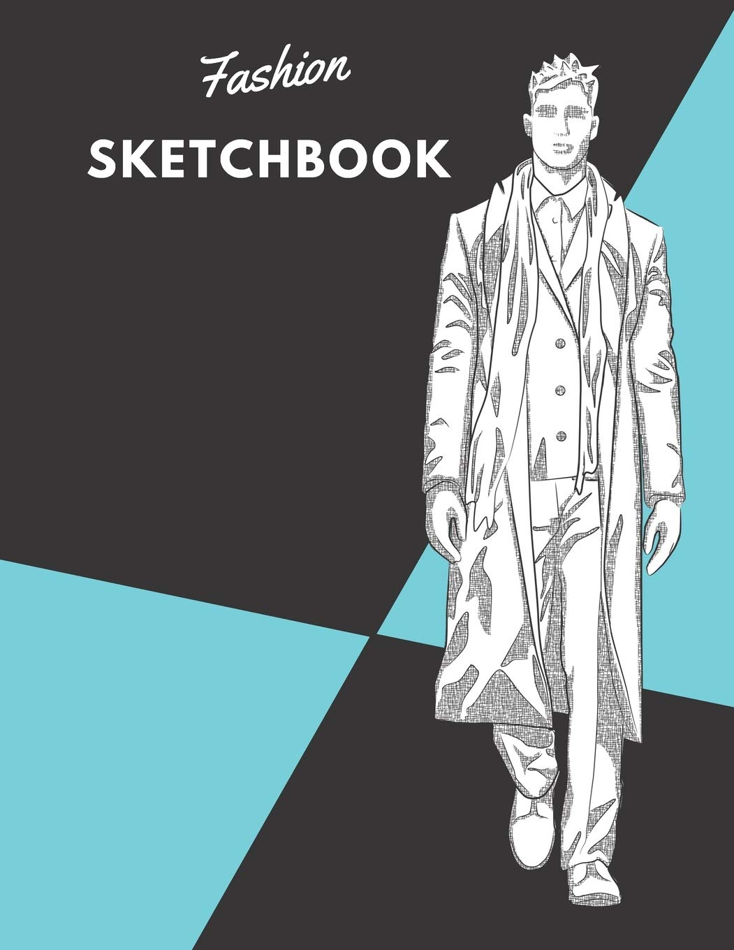 Fashion Sketchbook 100 Large Male Figure Templates With 10 Different Poses For Easily Sketching Your Fashion Design Styles Coloring Carolyn 9781699846971 Amazon Com Books