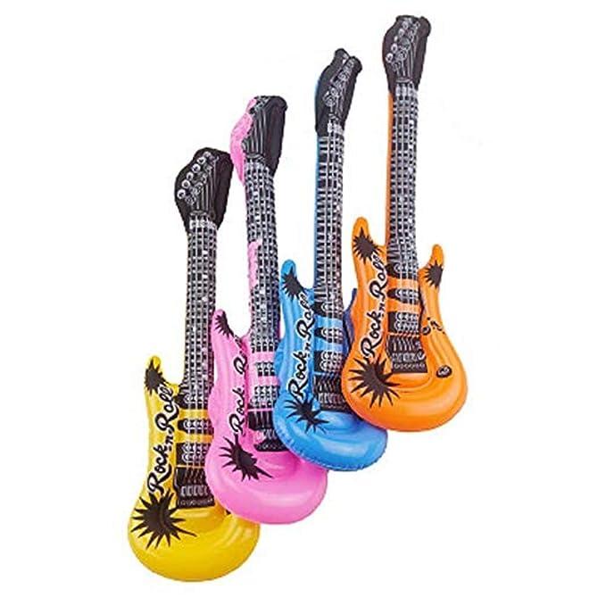 Guitarra Inflable Instrumentos Musicales Accesorios De Fiesta Y ...