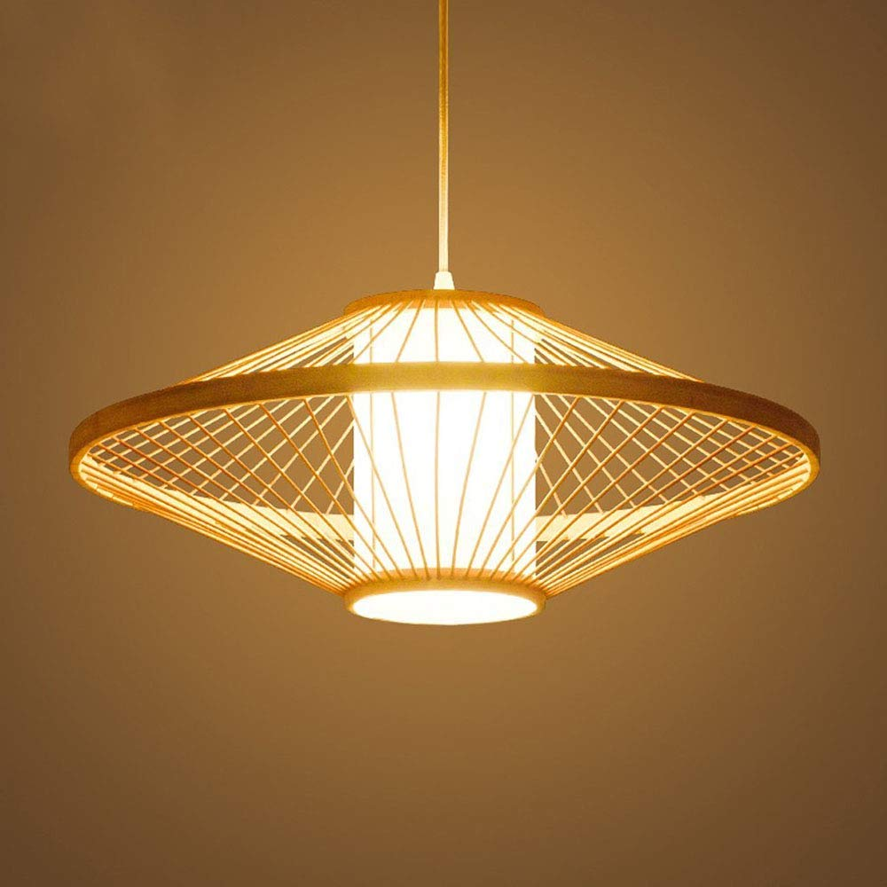 5020cm AZCX Wooden Ceiling Fixture Island Light Chandelier Creative Bar Cabinet Cafe Decorative Chandelier,50  20cm