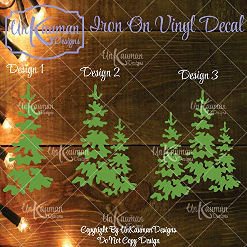 0dcc0e6a91854 Image Unavailable. Image not available for. Color  Christmas Tree Iron On  Vinyl Decal ...