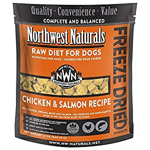 Northwest Naturals Raw Rewards Freeze Dried Nuggets - Dinner for Dogs (Salmon/Chicken)