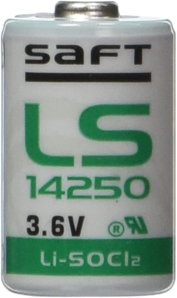 2 Pieces of Saft LS-14250 1/2 AA 3.6V Lithium Primary Battery for Mac computers (non Rechargeable)