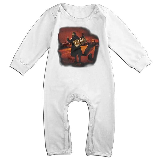 Ozzy Osbourne - para hombre Hitchhiker Overdye camiseta pequeños bebé Pelele Onesie Mono bebé recién nacido ropa - Blanco - : Amazon.es: Ropa y accesorios