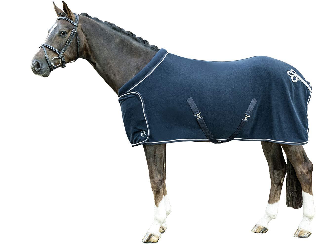 HKM Sports Equipment HKM Fleecedecke mit Kragen Rückenlänge 125 cm rot 72243000.0021