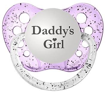 Amazon.com: Chupetes Daddy s Girl Chupete personalizado en ...