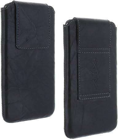 Funda universal para celular con cinturón de cuero genuino 3XL-3 ...