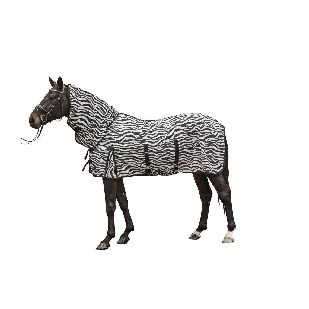 con la cruz de la correa Zebra HKM volar con cuello