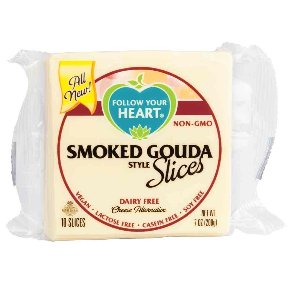 Follow Your Heart, Alternative Cheese Gouda Smoked Slices, 7 Ounce