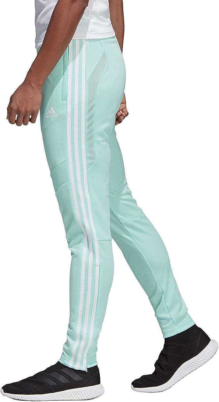 adidas Womens Tiro 19 AEROREADY Climacool Slim Fit Full Length Soccer Training Joggers Sweatpants
