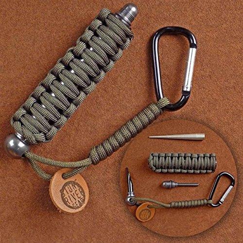 Stone River Gear Knife Sharpener and Firestarter Survival Kit