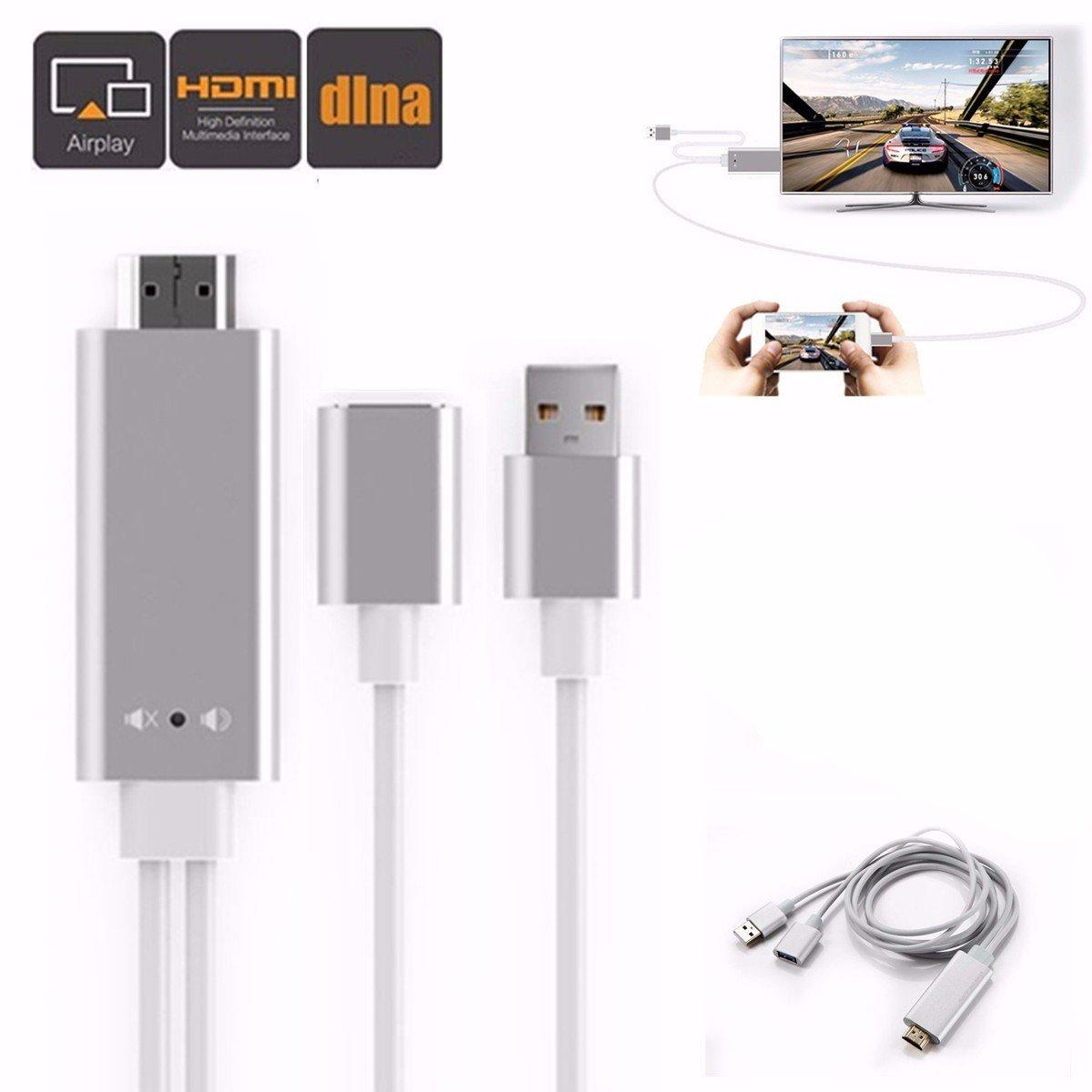 HDMI Adapter, M.Way Aluminium MHL zum HDMI adapter, AV: Amazon.de ...