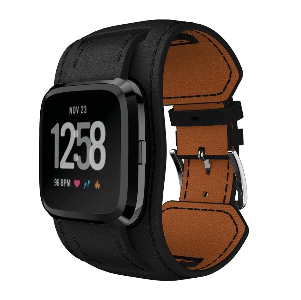 NewKelly Correa de Reloj para Fitbit Versa Smartwatch, Correa de ...