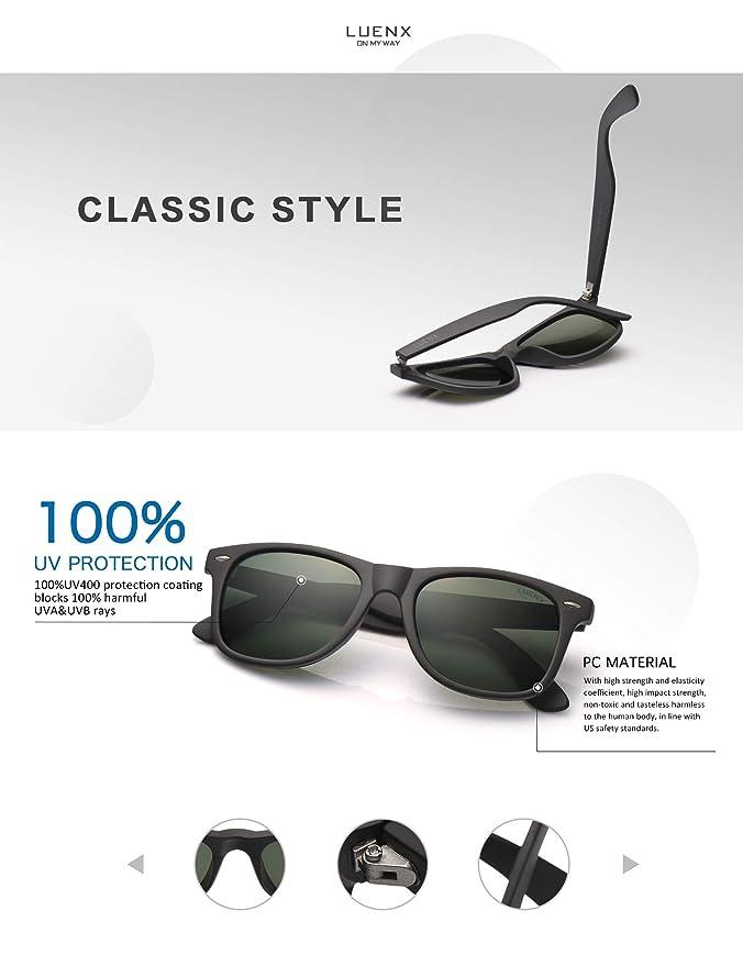 Amazon.com: Gafas de sol polarizadas para hombre para mujer ...