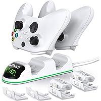 OIVO Cargador Mando para Xbox One Series X S, Xbox Mando Batería 2 x 1300mAH Recargable para Xbox One / One S Serie…