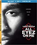 Cover Image for 'All Eyez On Me [Blu-ray + DVD + Digital HD]'
