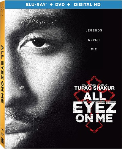 All Eyez On Me (Blu-ray + DVD + Digital)