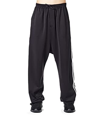 adidas Y-3 Yohji Yamamoto Pants 3-Stripes Wide - Black CY6895   Amazon.co.uk  Clothing f7a43f48b514