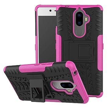 pinlu® Funda para Lenovo K8 Note Smartphone Doble Capa Híbrida ...