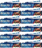 Bimectin Ivermectin Paste Horse Wormer (1.87 Ivermectin) -  12 TUBES