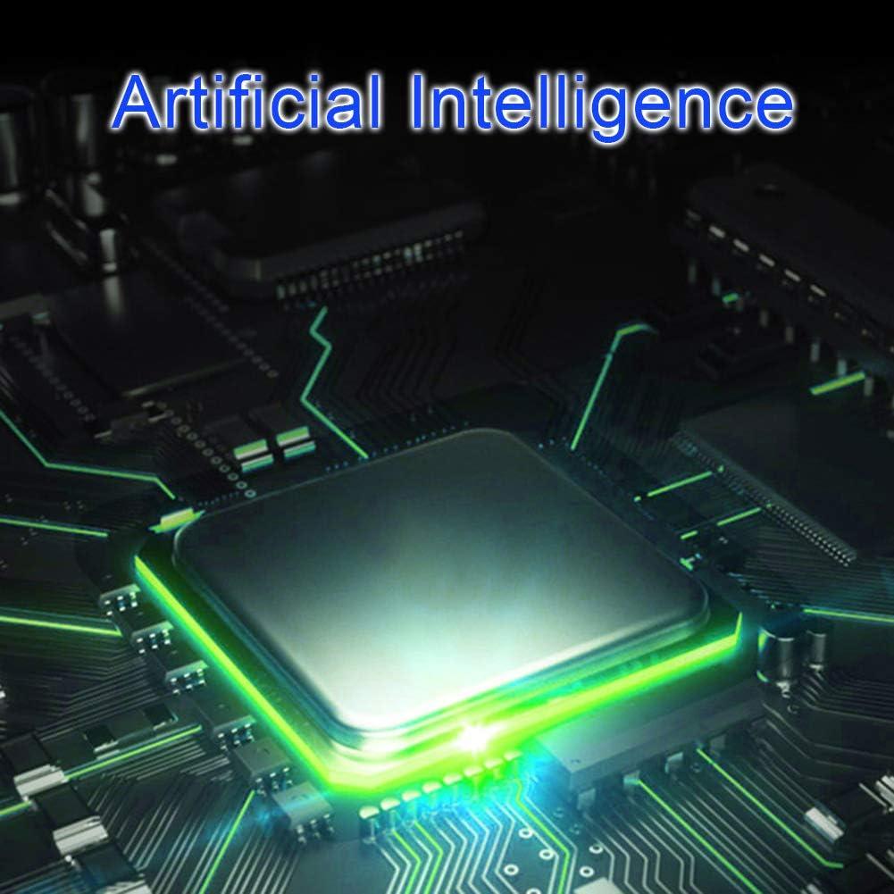 Cvian Cadenas /à empreinte digitale intelligent /étanche avec fonction de chargement et dempreintes digitales noir